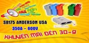 Giắc cắm SB175 Anderson Connector