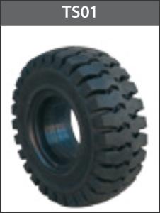 Lốp vỏ đặc 750x10 mâm 5.00 - TS01