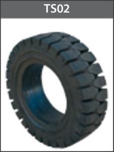 Lốp vỏ đặc 18x7x8 mâm 4.33 - TS02